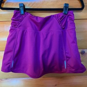Athleta Sprint skort size M pink